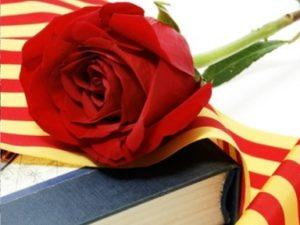 rose book sant jordi